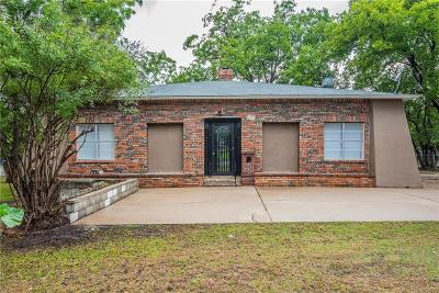 Haltom City Single Family Home Active Option Contract: 3301 Meadow Oaks Drive