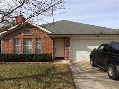 Fort Worth Single Family Home For Sale: 808 Voltamp Drive