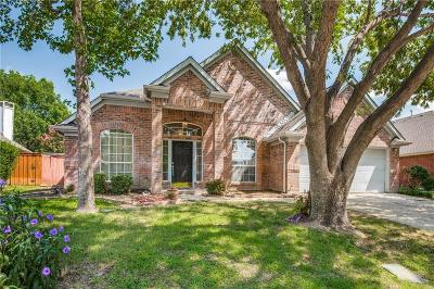 Dallas County, Denton County Single Family Home Active Option Contract: 10114 Andre Drive
