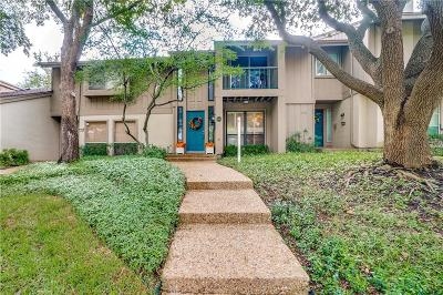 Dallas Townhouse For Sale: 11914 Leisure Drive