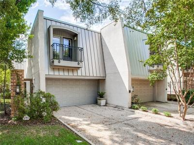 Dallas Townhouse For Sale: 4118 Woodcreek Drive