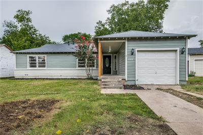 Haltom City Single Family Home For Sale: 3709 Katrine Street