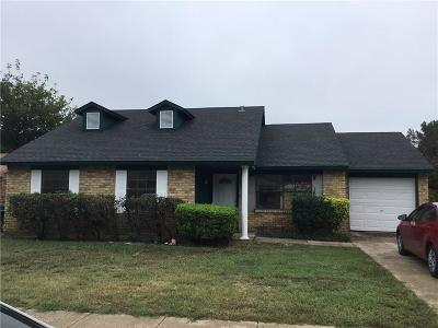 Fort Worth Single Family Home For Sale: 3737 Bee Tree Lane