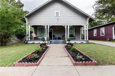 Fort Worth Single Family Home For Sale: 2017 Grainger Street