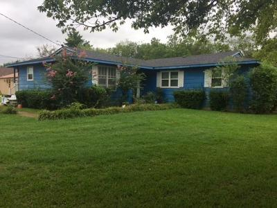 Single Family Home For Sale: 500 Mount Olive Street