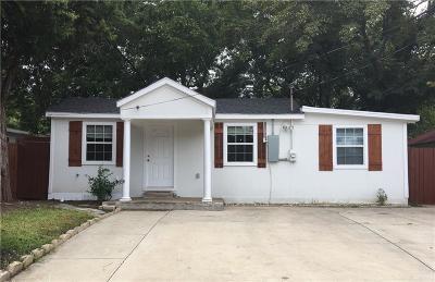 Single Family Home Active Option Contract: 4035 Abilene Street