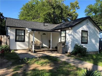 Haltom City Single Family Home For Sale: 4511 Sanford Street