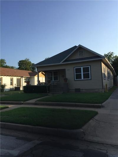 Fort Worth TX Single Family Home For Sale: $147,500