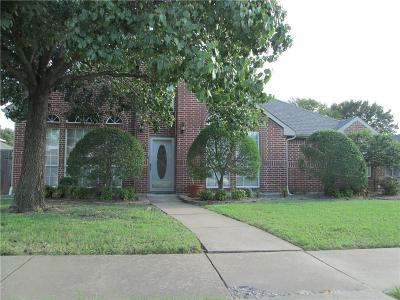 Carrollton Single Family Home Active Option Contract: 2114 Buckskin Circle