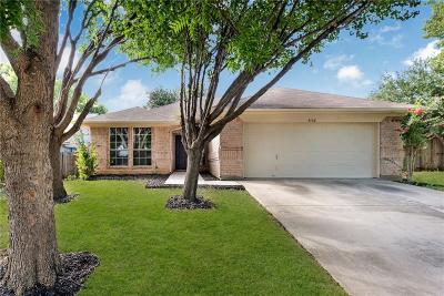 Fort Worth TX Single Family Home For Sale: $197,900