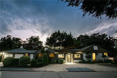 Dallas, Fort Worth Single Family Home For Sale: 5435 Westside Drive
