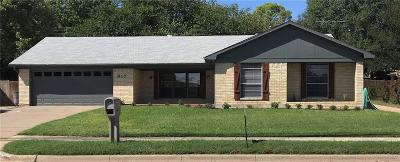 Grapevine Single Family Home For Sale: 917 N Dove Road