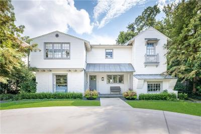 University Park Single Family Home For Sale: 4081 Bryn Mawr Drive