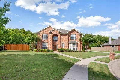 Mckinney Single Family Home Active Contingent: 6128 Vineyard Lane