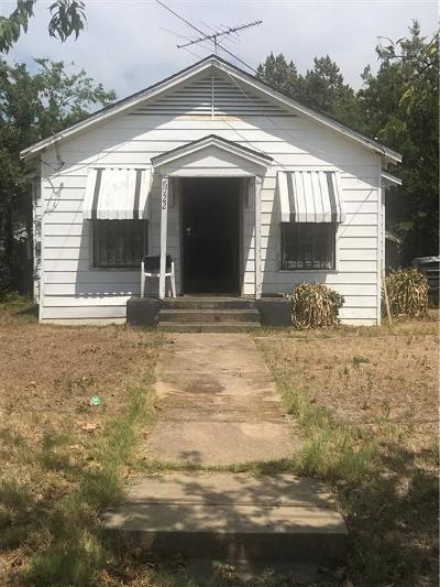 Dallas County Single Family Home For Sale: 6722 Mabel Avenue