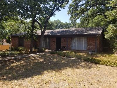 Fort Worth Single Family Home For Sale: 7513 Madeira Drive