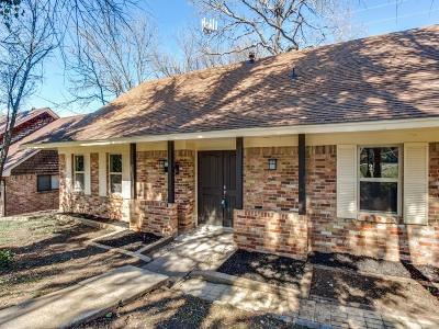 Dallas TX Single Family Home For Sale: $289,500