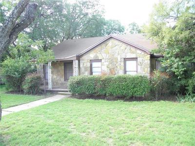 Abilene Single Family Home For Sale: 2051 Edgemont Drive