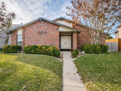 Richardson Single Family Home Active Option Contract: 1604 Carol Stream Drive