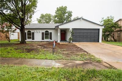 Grand Prairie Single Family Home For Sale: 1109 Santa Fe Trail