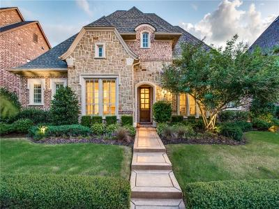 Frisco Single Family Home Active Option Contract: 3635 Hickory Grove