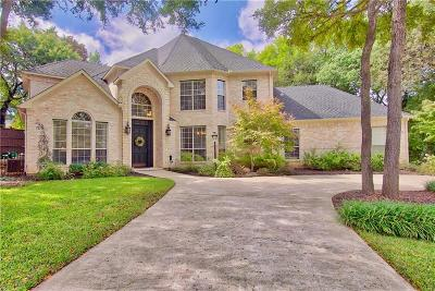 Flower Mound Single Family Home Active Option Contract: 1709 Doubletree Trail