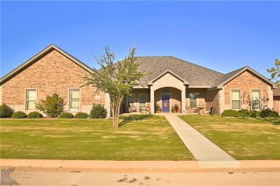 Abilene Single Family Home For Sale: 6534 Milestone Drive