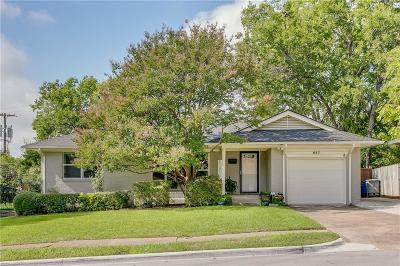 Dallas Single Family Home Active Option Contract: 847 Peavy Road