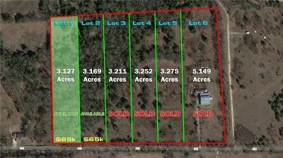 Terrell Residential Lots & Land For Sale: 10476 County Road 313 #1