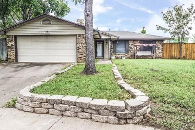 Irving Single Family Home Active Option Contract: 1505 Parma Court