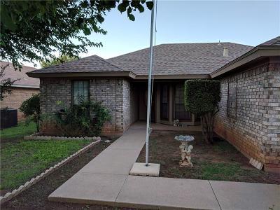 Abilene Single Family Home For Sale: 4126 Chris Drive