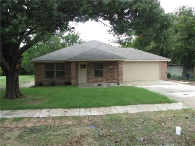 Poetry, Terrell Single Family Home For Sale: 1012 S Frances Street