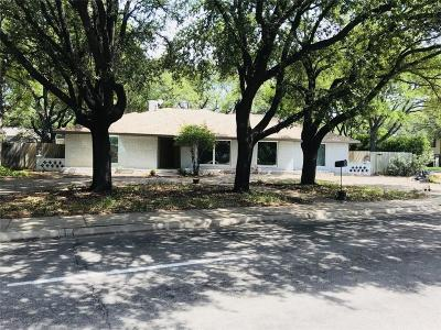 Dallas, Fort Worth Single Family Home For Sale: 7631 Meadow Road