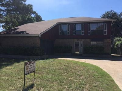Euless Residential Lease For Lease: 210 Lark Lane
