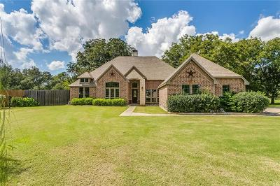 Weatherford Single Family Home Active Contingent: 120 Sunny Oaks Court