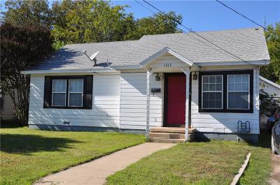 Brownwood Single Family Home For Sale: 1313 Avenue J