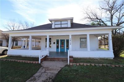 Brownwood Single Family Home For Sale: 1010 Avenue G