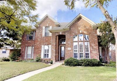 Allen Single Family Home For Sale: 1603 Long Prairie Court