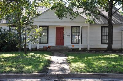 Brownwood Single Family Home For Sale: 2203 Berkley Street