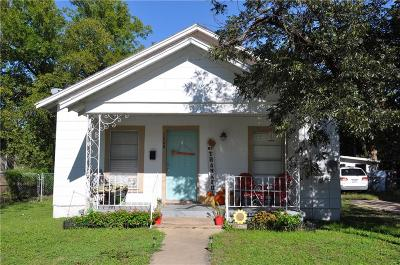 Brownwood Single Family Home For Sale: 1608 Durham Avenue