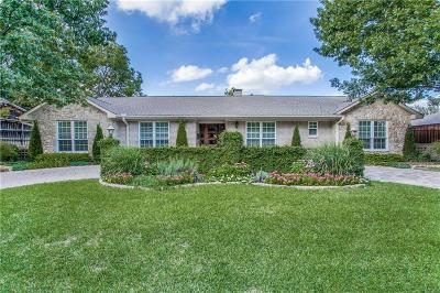 Dallas Single Family Home For Sale: 7331 Blairview Drive