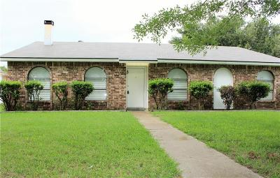 Carrollton Single Family Home Active Option Contract: 2221 Reagan Boulevard
