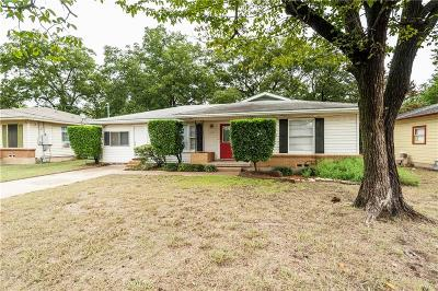 Denton Single Family Home For Sale: 910 Alice Street