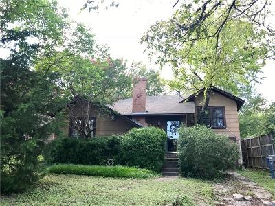 Dallas TX Single Family Home For Sale: $270,000