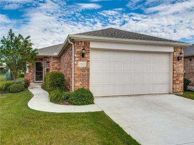 Frisco Single Family Home Active Option Contract: 7522 Kite Lane