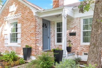 Dallas TX Single Family Home For Sale: $599,000