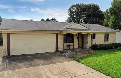 Farmers Branch Single Family Home For Sale: 13724 Janwood Lane