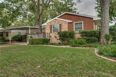 Dallas TX Single Family Home For Sale: $175,000