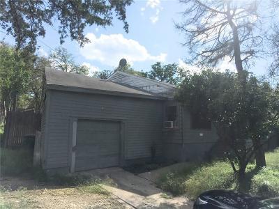 Dallas Single Family Home For Sale: 3134 W Jefferson Boulevard