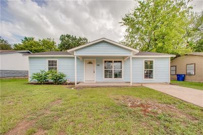 Dallas TX Single Family Home For Sale: $149,900